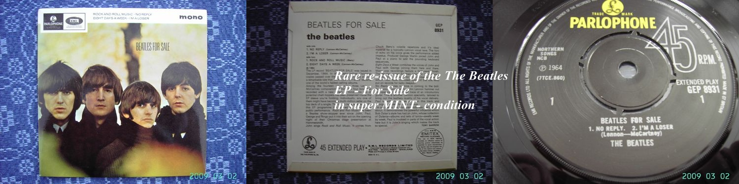 Beatles, For Sale EP (Reissue)